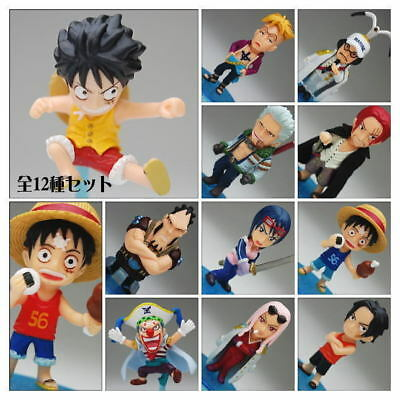 One Piece Collection Promise of the Marineford Swear of Freedom Figure Set x 12