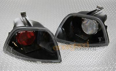 Ford Focus Mk1 Hatchback 1998-2004 Black Lexus Rear Fog & Reverse Lights Lamps