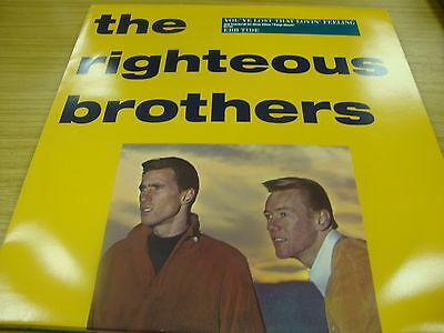 """The Righteous Brothers You've Lost That Loving Feeling (PS) 12"""" Vinyl Single"""