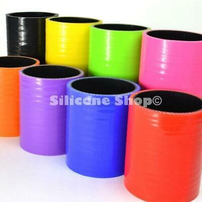 Silicone Hose Straight Joiner Coupler All Sizes / Colours Available (Black Liner