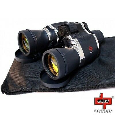 BRAND NEW Day/Night 20x60 High Quality Outdoor Chrome Binoculars + Carrying Case