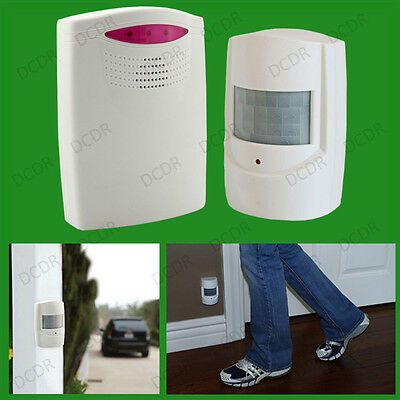 Wireless PIR Motion Sensor Driveway Garage Alert System, Security Intruder Alarm