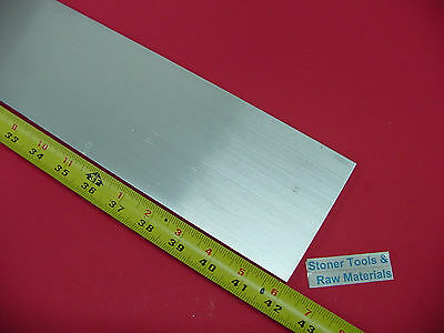 "3/8"" X 4"" ALUMINUM 6061 FLAT BAR 42"" Long T6511 Solid .375"" New Plate Mill Stock"