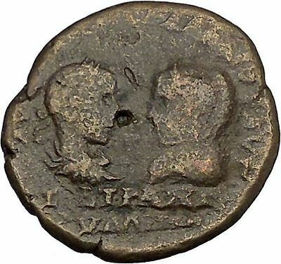 GORDIAN III & TRANQUILLINA Mesembria Thrace APOLLO Ancient  Roman Coin i41675