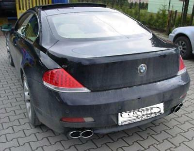 ULTER Sportauspuff BMW 6er E63 Coupe ab Bj. 04 645i - rechts links je 220x80mm