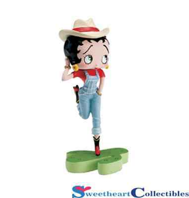 Betty Boop Calendar Girl Western Figurine September Retired NIB