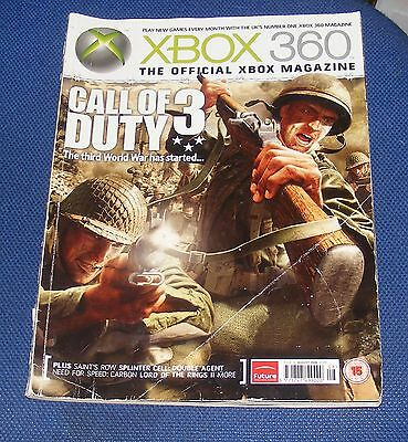 X-Box 360 The Official Xbox Magazine  Issue 10 August 2006 - Call Of Duty 3