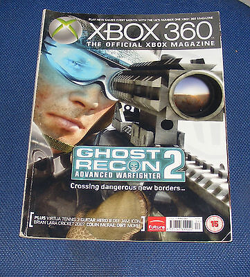 X-Box 360 The Official Xbox Magazine  Issue 19 April 2007 - Ghost Of Recon 2