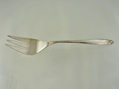 Prelude 1939 Large Cold Meat Serving Fork 3 Tine By International Silver Co
