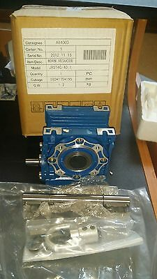 """JRST40/40:1  Worm Gear 40:1  WORM Reducer.  CUBAGE 180 175 195 """"FREE SHIPPING"""""""