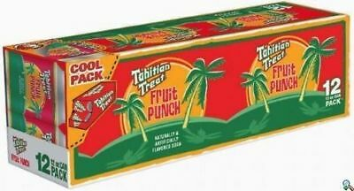 Tahitian Treat Soda 12 Pack of Cans