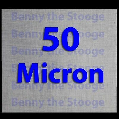 """(3 Pack) 4"""" x 4"""" - 50 Micron True Ultra Fine Stainless Steel Mesh 710 Filters"""