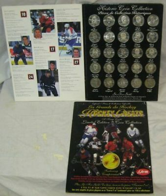 GOT-UM Hockey Greats Limited Edition Gold Plated Coin Collection - 25 Pieces