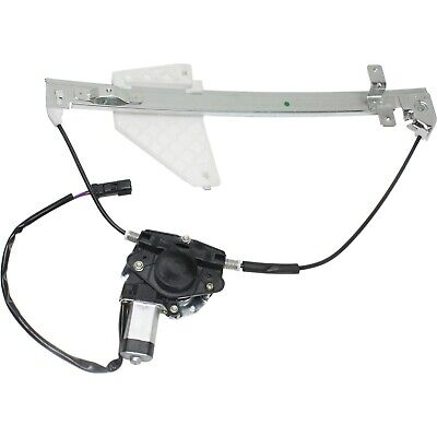Power Window Regulator For 2001-2004 Jeep Grand Cherokee Rear Left with Motor