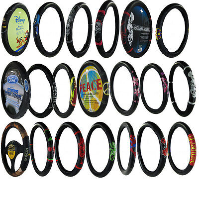 Brand New Official Licensed Universal Fit Car Truck Full Steering Wheel Cover