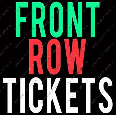 2 x James Taylor FRONT ROW FLOOR Melbourne Tickets Row A