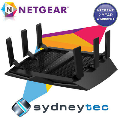 New Netgear R8000 Nighthawk X6 AC3200 Tri-band Gigabit Wireless Router