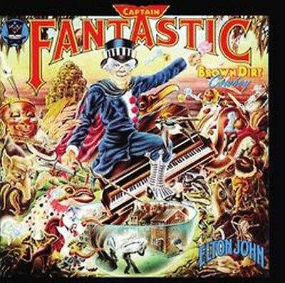 Elton John - Captain Fantastic And The Brown (NEW CD)