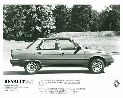 1982 Renault 9 Automobile Photo Poster zch5551