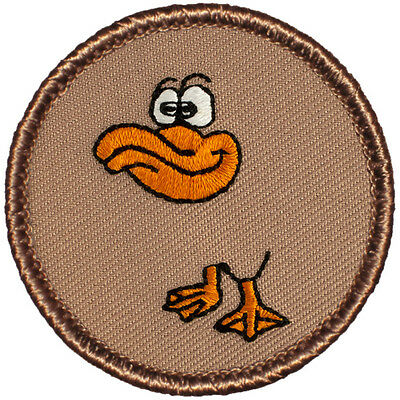 Hilarious Boy Scout Patches - (#681) The Invisible Duck Patrol Patch!!