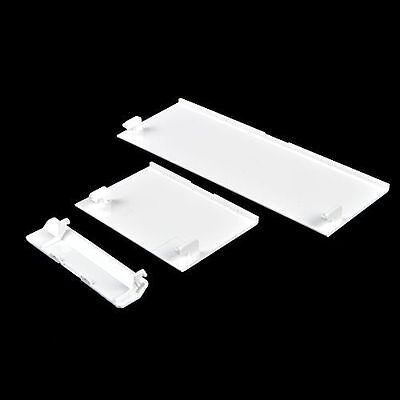 White Replacement Door Slot Cover Lid Part for Nintendo Wii Console System