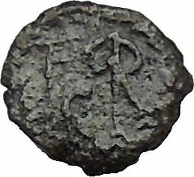 MARCIAN 450AD Constantinople Mint MONOGRAM Authentic Ancient Roman Coin i41484