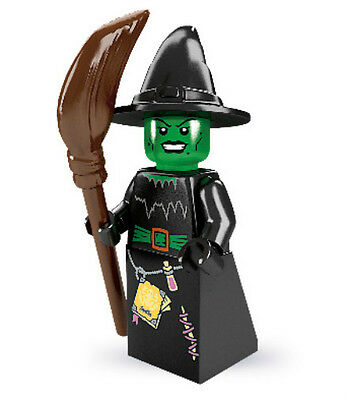 NEW LEGO SERIES 2 WITCH MINIFIG 8684 loose figure minifigure #4 halloween wicked