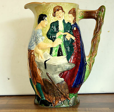 THE RUNAWAY. MARRIAGE A.ROMANTIC COUPLE BEING MARRIED JUG