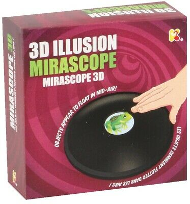 3D Mirascope Floating Optical Magical Illusion Magic Trick Toy Game 09570