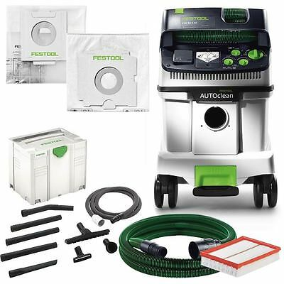 festool staubklasse m absaugmobil cleantex ctm 36 e ac mit selfclean filtersack eur 971 92. Black Bedroom Furniture Sets. Home Design Ideas