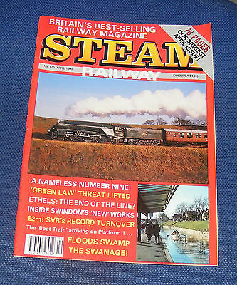 Steam Railway Magazine April 1990 - A Nameless Number Nine!