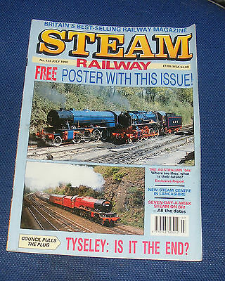 Steam Railway Magazine July 1990 - New Steam Centre In Lancashire