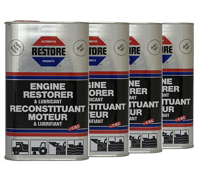 New RESTORE Truck Bus Tractor JCB Digger engines 4L AMETECH ENGINE RESTORER OIL