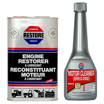 NEW! AMETECH RESTORE ENGINE RESTORER & FLUSHING OIL for 4.0 LITRE ENGINE