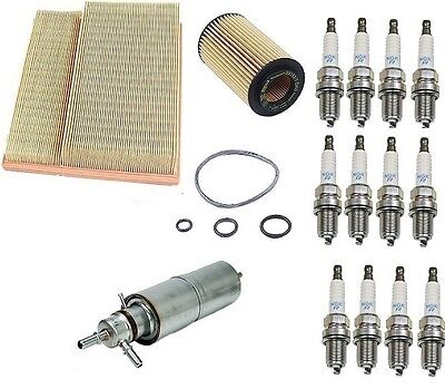 For Mercedes W163 ML320 98-01 Ignition Kit w// Opparts Wire Set /& NGK Spark Plugs