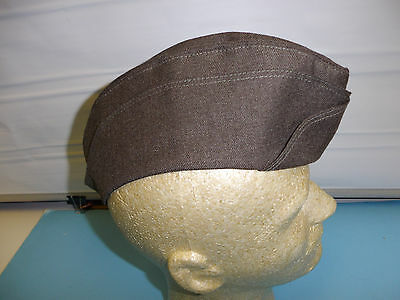 b3972XL  Korean War US Army Womens Army Corps WAC All Ranks Overseas cap X Large