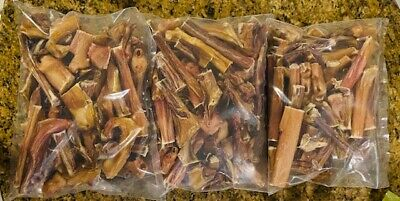 5 Pounds BULLY STEER STICKS THICK Ends & Pieces Dog Treats USA Like TRUE CHEWS