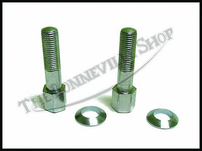 70-0409 TRIUMPH HEADER EXHAUST PIPE CLAMP BOLTS CEI 55-68 W// WASHERS 70-8860 2PC
