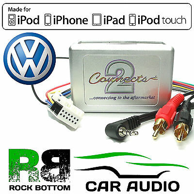 VOLKSWAGEN VW GOLF MK5 2003 On Car Stereo Aux In Input MP3 iPhone iPod Interface
