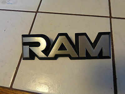 DODGE RAM,LETTERS ,TRUCK ADVERTISING  DODGE HOOD OR SIDE PANEL ORNAMENT