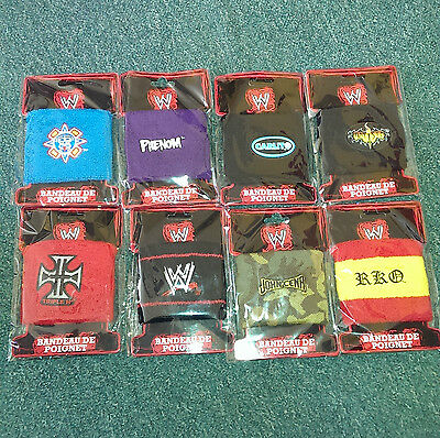 WWE Official Merchandise- wristband/badge - NEW - John Cena - HHH - Undertaker