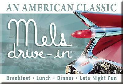 1959 Cadillac - Mel's Drive In - USA Magnet Magnetschild