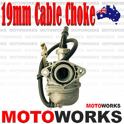 PZ 19mm Cable Choke Carburetor Carby 90cc 110CC ATV QUAD Dirt Bike Gokart Buggy