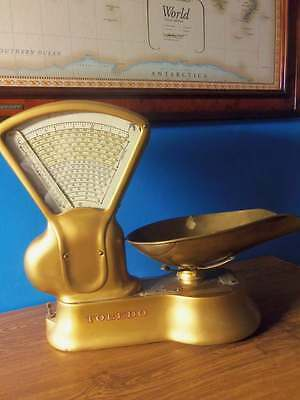 * Antique Vintage Toledo 405 Candy Grain Weight Scale Old-Fashioned 3 lbs