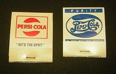 2 Pepsi Cola Full Match Packs