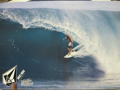 VOLCOM 2006 BRUCE IRONS creepy fingers 2 sided SURF promo poster ~MINT cond.~!!