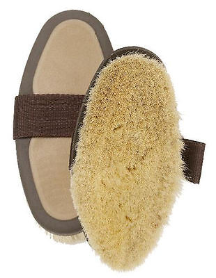 Horse & Western Gifts  Grooming  Natural Goat Hair Body Brush For Clipped Horses