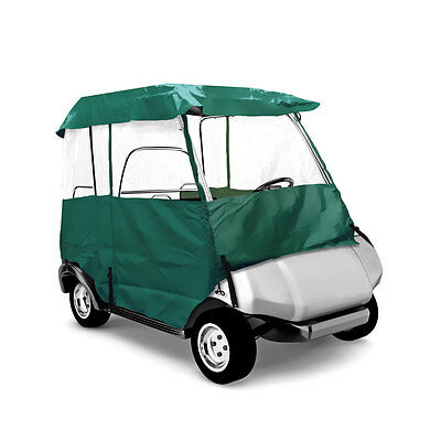 PyleSports Deluxe 4 Sided Golf Cart Enclosure 2 Passenger, Fits Carts to 66''L