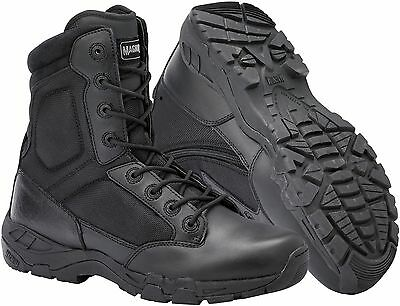 Magnum Viper Pro 8.0 Side Zip Lightweight Mens Combat Police Army Boots UK3-14