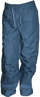 Ex Store Boys Blue Cotton Trousers